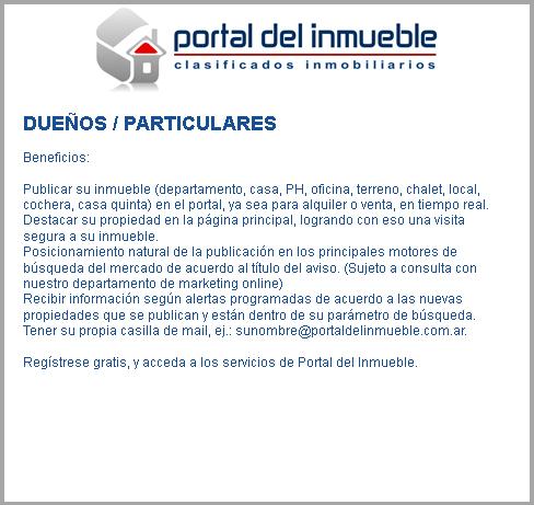Portal del inmueble directorio de inmuebles guia for Guia inmobiliaria